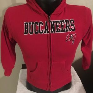 Youth NFL Apparel Tampa Bay Buccaneers Jacket